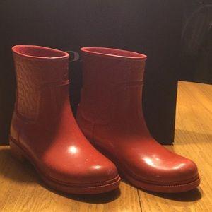 Coach Signature Rain Boots